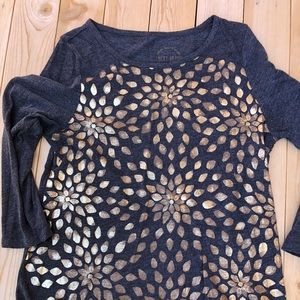 Lucky Brand 3/4 sleeve T-shirt